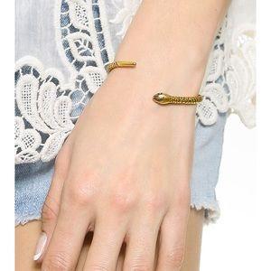 Madewell snake cuff bracelet